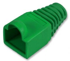 PRO POWER SH001 6.5 GREEN  Strain Relief Boot 6.5Mm Green 10/Pk